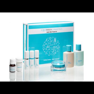 Activ-Skin Travel Kit + Sport Active Cream: Feszesítő csomag színezett hidratáló krémmel
