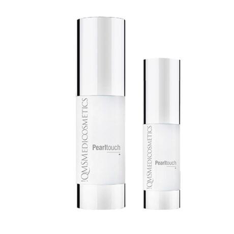 Pearltouch Duo - azonnal felszívódó selyem- és igazgyöngy kivonatos luxuskrém élettelen, kiszáradásra hajlamos bőrre 30ml+10ml