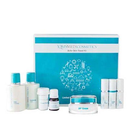 Activ-Skin Travel Kit + 24H Cream: Feszesítő csomag A,C, E vitamin tartalmú krémmel
