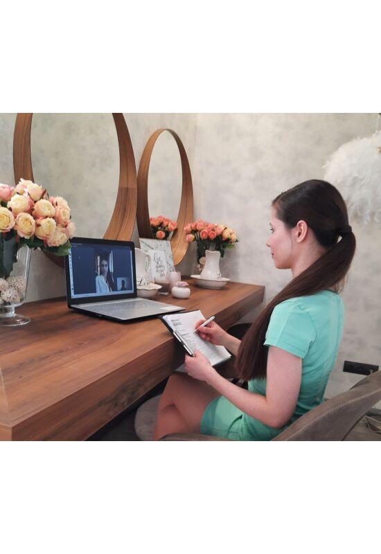 Online konzultáció bőrállapot felméréssel